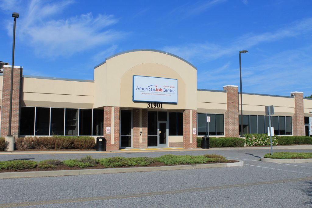 A photo of the American Job Center exterior